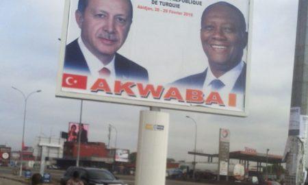 Visite de Erdogan en Côte d'Ivoire