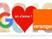 Partenariat Orange Google