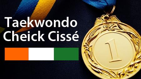 Cheick Cissé médaille Olympique