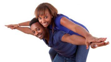 Couple véritable amour afrique