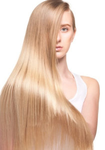Cheveux long insolite