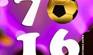 ballon d'or 1970 à 2016
