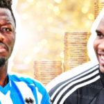 Les plus riches Footballeurs Salaire Africains