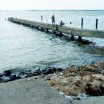 Ordure déchet lagune