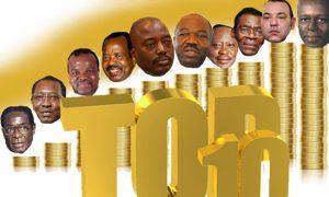 Les chef d'état africain les plus riche d'Afrique