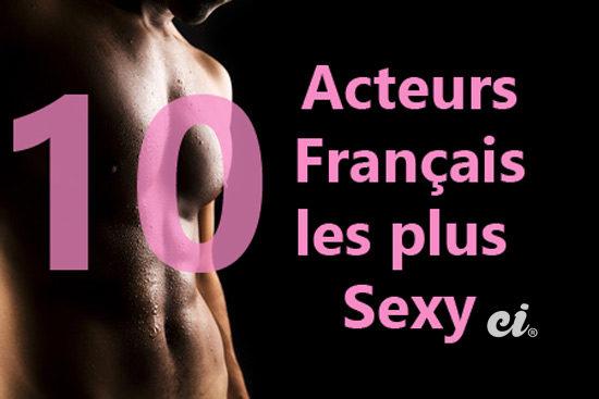 Acteurs français les plus sexy