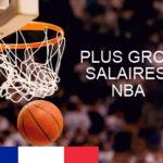 Plus gros salaires NBA
