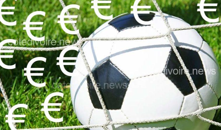 Classement salaires football