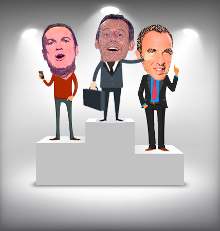 Les plus gros salaires des animateurs tv en France