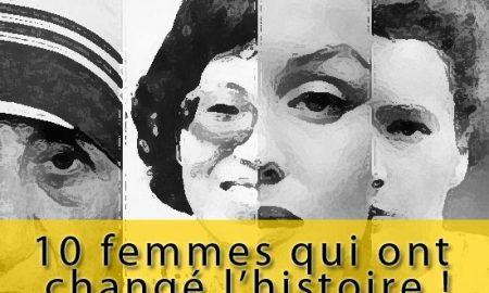 Les 10 femmes les plus influentes de l'histoire
