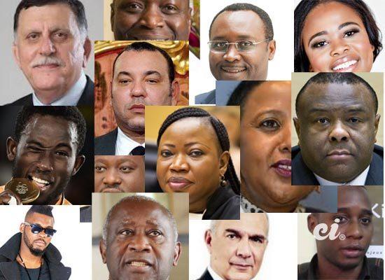 50 personnalités africaines 2016