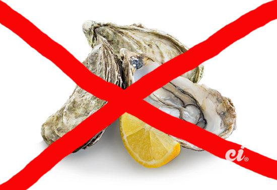 Pas manger huître