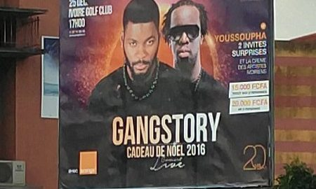 Date du concert de Gangstory de DJ Arafat et Youssoupha
