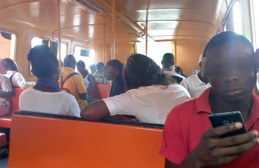 nouveau bateaux-bus Côte d'ivoire