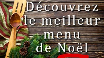 """Menu original Noël"""" pour un excellent réveillon"""