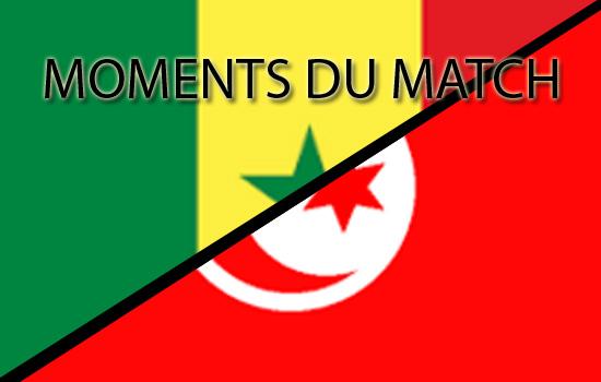 Victoire du Sénégal sur la Tunisie (2-0)