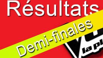 Résultats demi-finales The Voice Afrique
