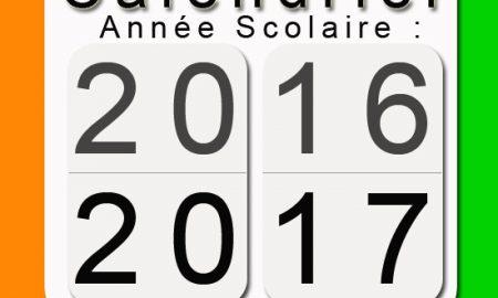 calendrier scolaire 2017- Côte d'Ivoire: examens, congés,