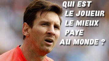 Le joueur le mieux payé au monde 2017, Messi ou Tevez ?