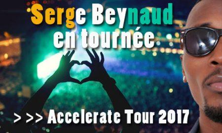 Serge Beynaud en tournée : du jamais vu, 18 concerts et spectacles en 2 mois