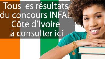 Résultats Concours INFAS 2017
