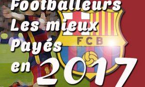 classement des footballeurs les mieux payés au FC Barcelone