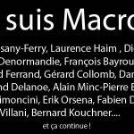 Liste des soutiens pour Macron