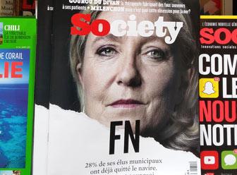 Compagne 2017 : Marine Le Pen, fait vendre