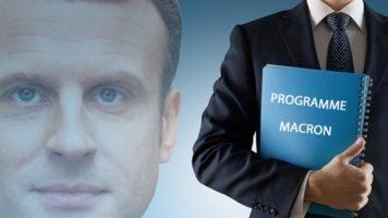 Programme Macron retraite,emploi,sécurité