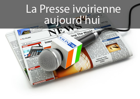 Aujourd'hui ou en est la presse en Côte d'Ivoire ? une actualités majoritairement politique est proposé, quoi d'autre encore ?