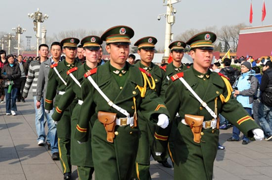 La puissance militaire de la Chine en 2017