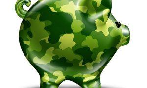 budgets des dix puissances militaires