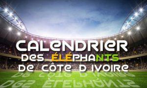 Eliminatoires CAN 2019 : voici le calendrier des éléphants de Côte d'Ivoire