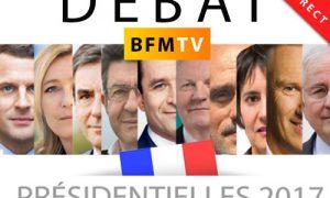 Suivre en direct le débat sur BMFTV des 11 candidats de la présidentielle