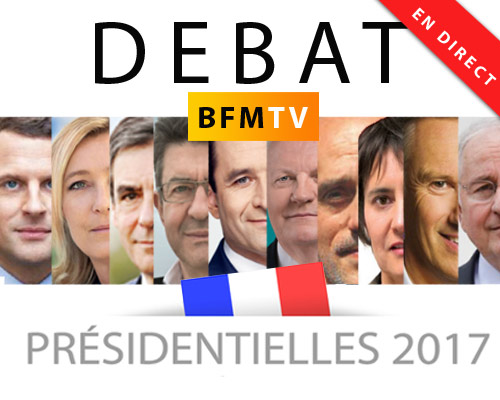 Un débat présidentielle qui va faire date dans les anales de la télévision française.