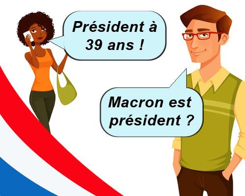 En ce 7 mai 2017, Emmanuel Macron est élu le pour être le nouveau président de la république français et des françaises.