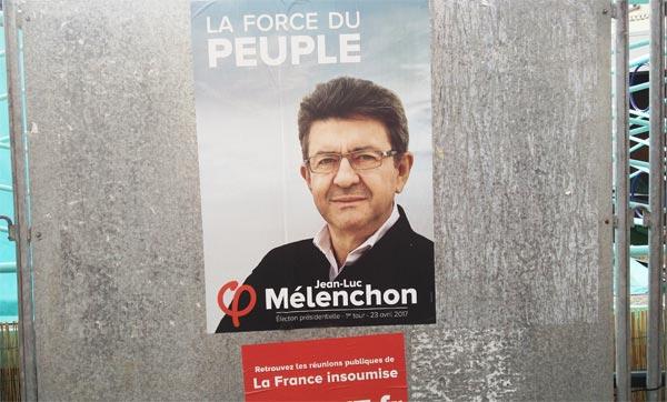 Présidentielle sondages Mélenchon