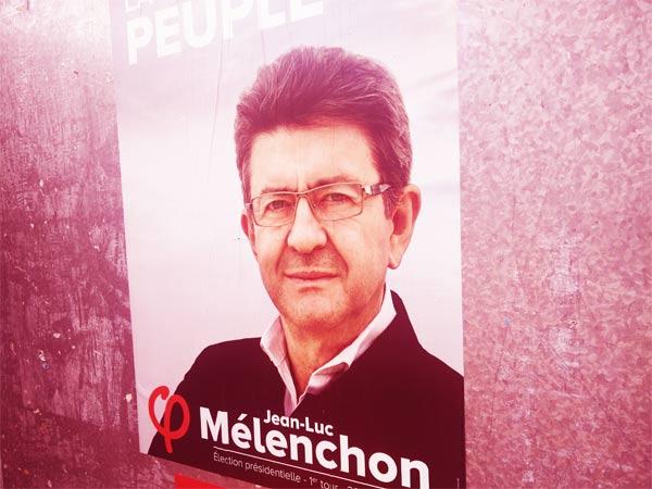 Un Jean Luc Mélenchon confiant et croyant dans sa victoire au présidentielle 2017