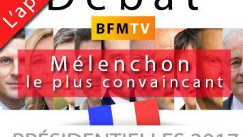 sondages apres débat BFM-tv 4 avril