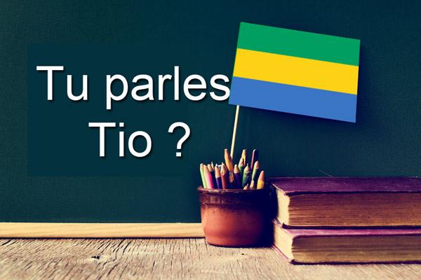 Langue Tio du Gabon
