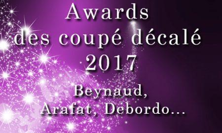 Arafat DJ Coupé décalé 2017 Awards