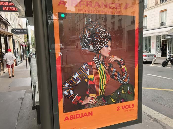 Vol et destination à Abidjan Air France
