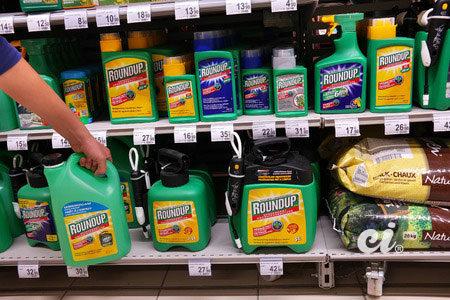 RoundUp est herbicide non sélectif