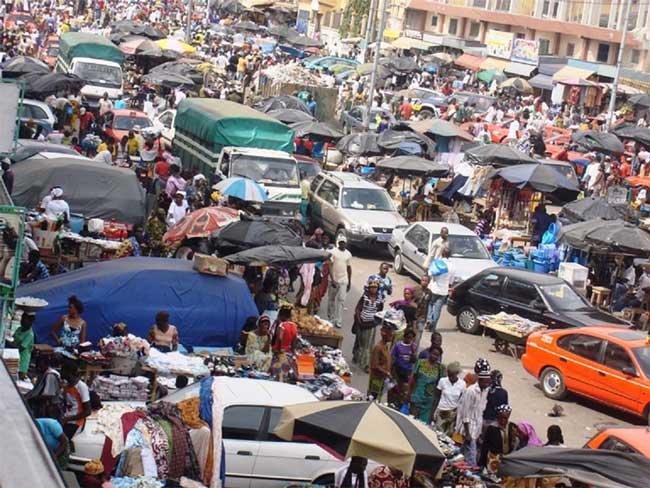 Roxy marché à Adjame Abidjan