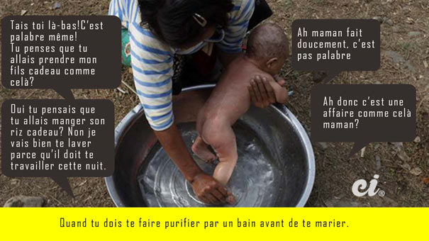 lave bébé africain sénégal