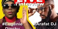 Arafat dj en Live et Eugenie diecky
