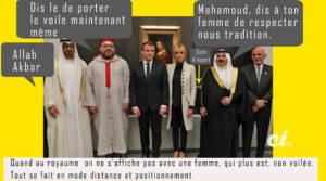Brigitte visite pays arabe