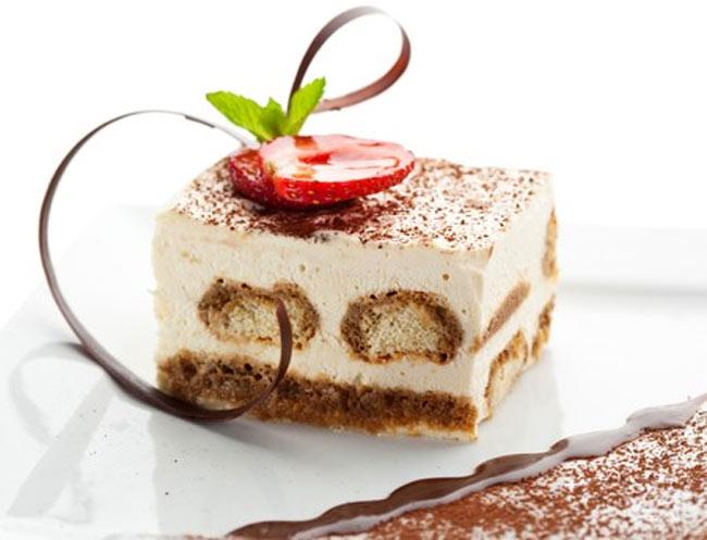 Dessert gastronomique noël