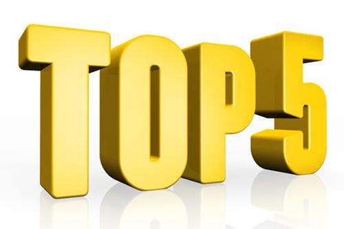 Meilleurs buteurs top 5