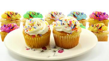 Recette Cupcake vanille